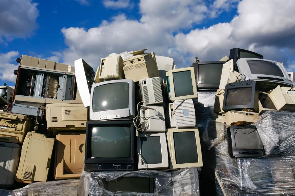 TV Wall of Trash
